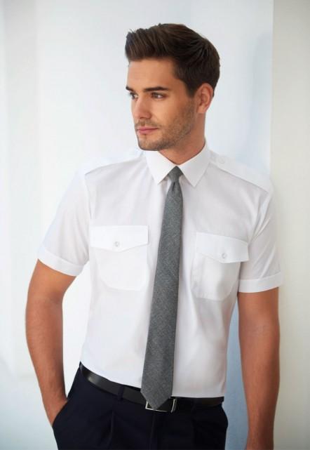 Orion Slim Fit S/S Pilot Shirt
