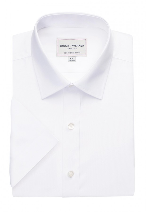Milano S/S Slim Fit Non-Iron Shirt