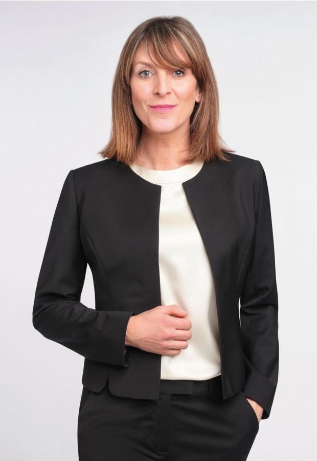 Rosa Collarless Jacket