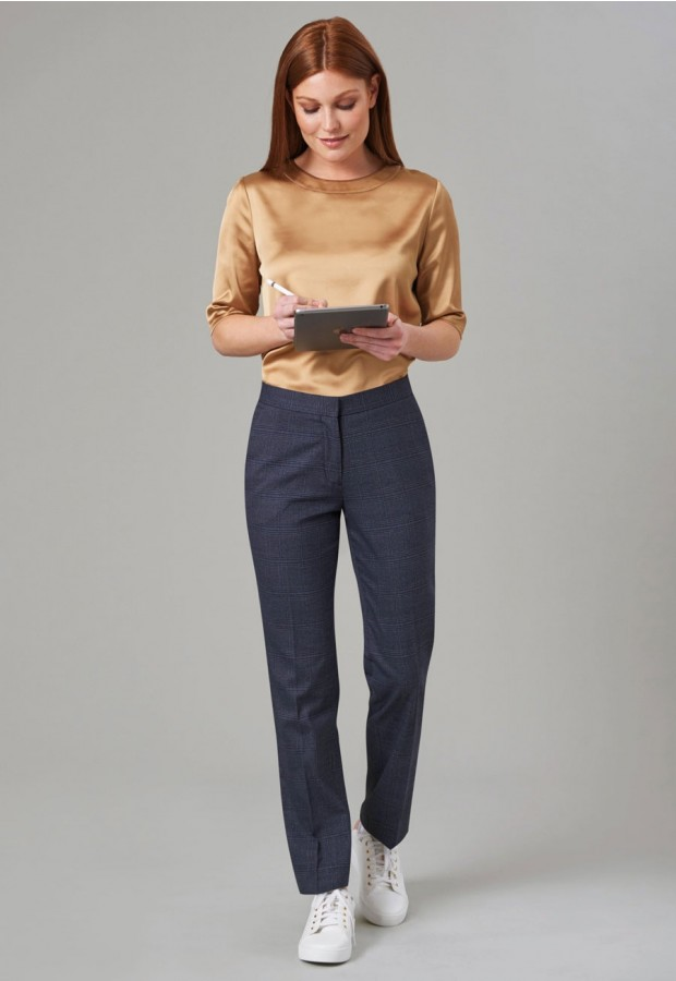 Stella Check Trouser