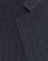Charcoal Pinstripe