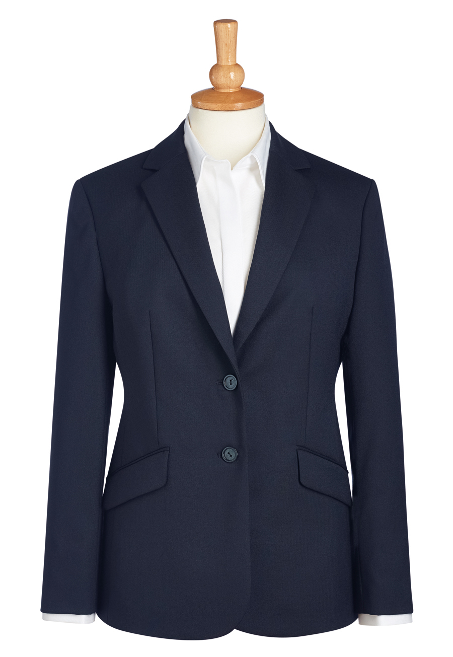 Connaught Classic Fit Ladies Jacket Navy Size 24 Regular