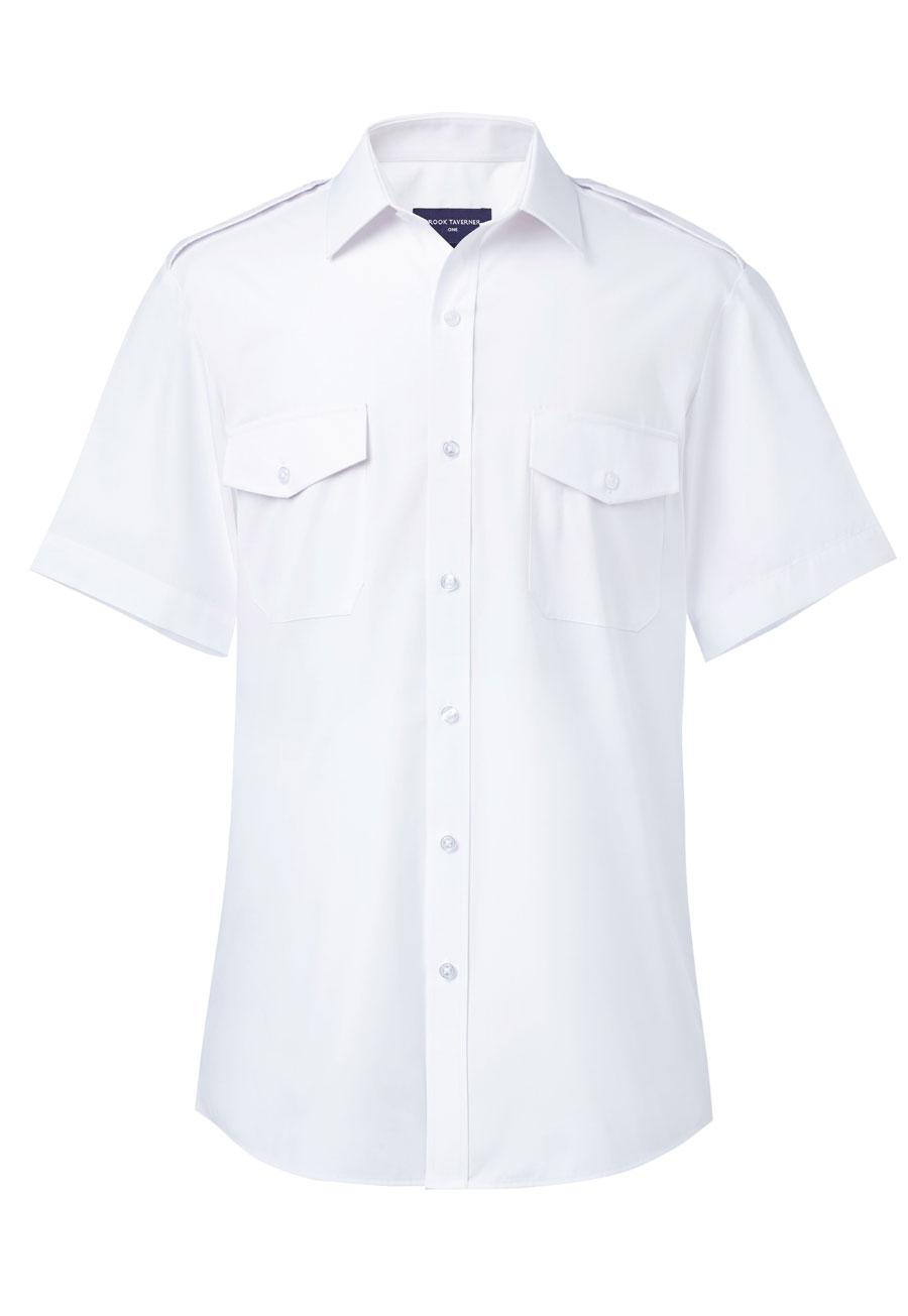 Orion Slim Fit S/S Pilot Shirt Image