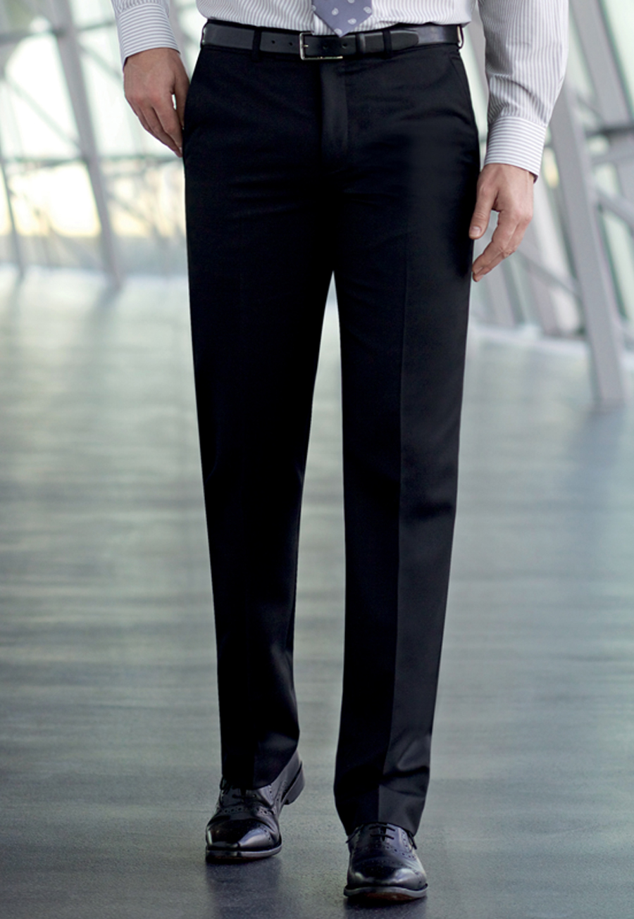 Apollo Flat Front Trouser Image