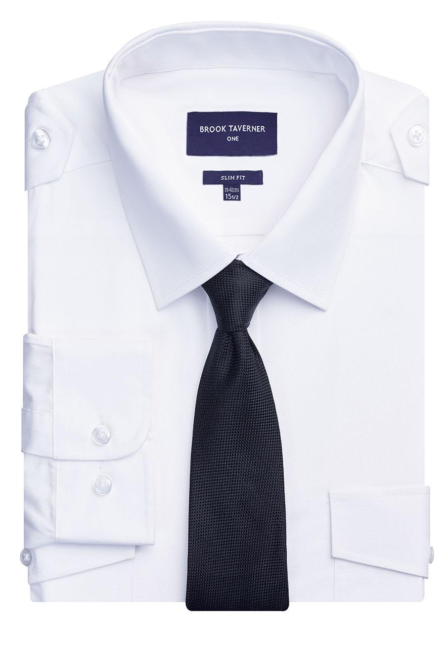 Ares Slim Fit L/S Pilot Shirt Image