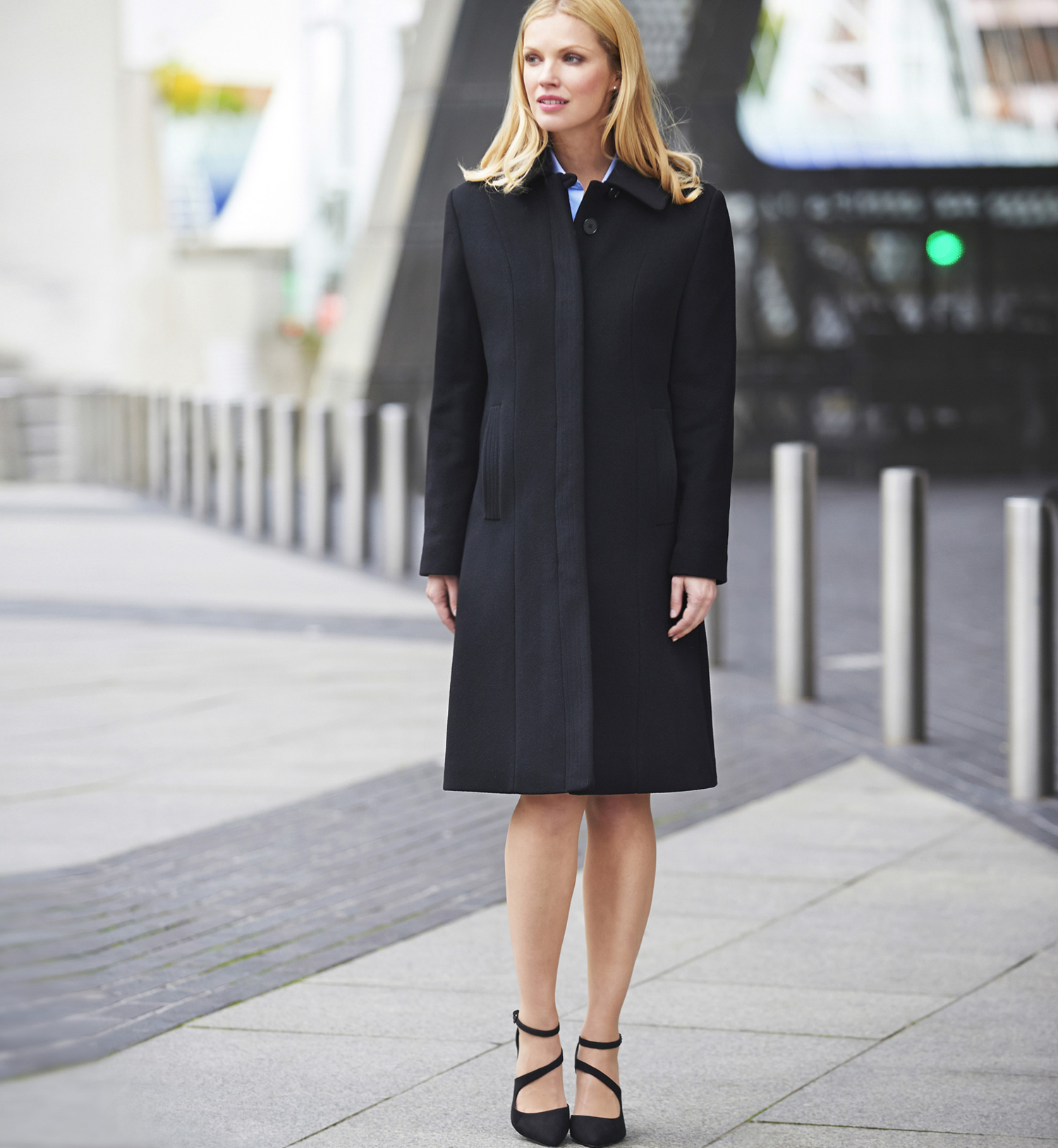 Ladies Burlington Overcoat Image