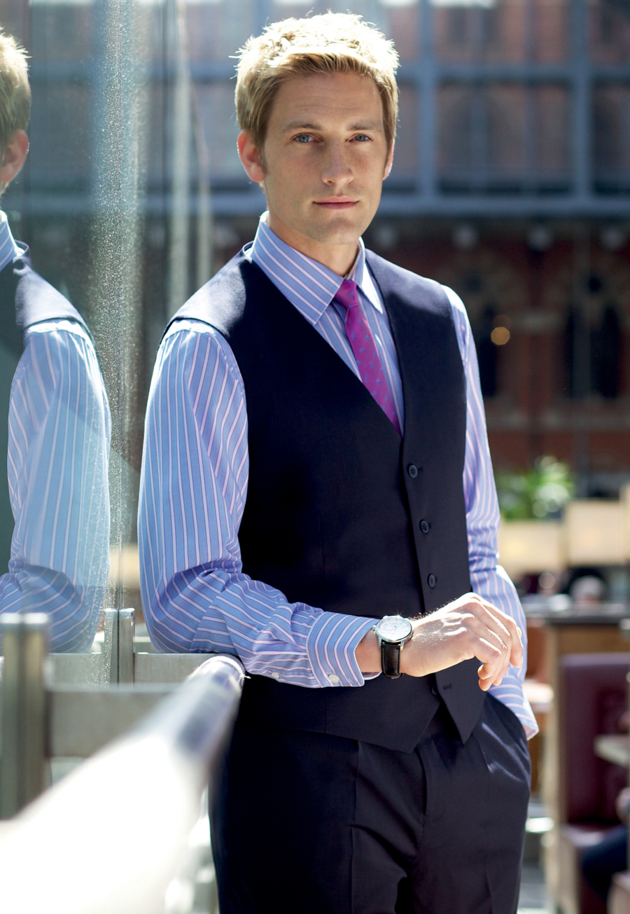 Busso Mens Waistcoat Image