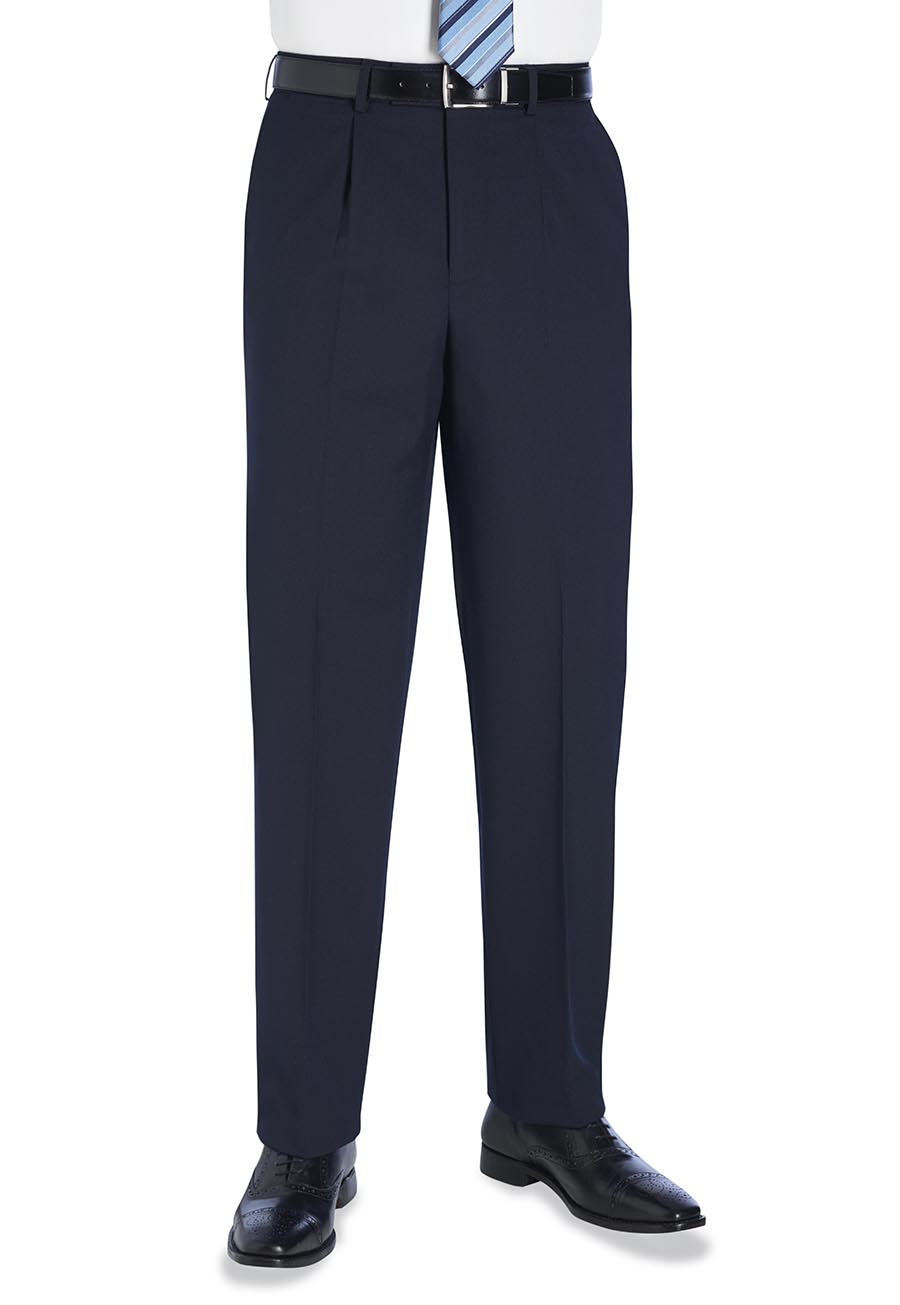 Langham Single Pleat Trouser Image