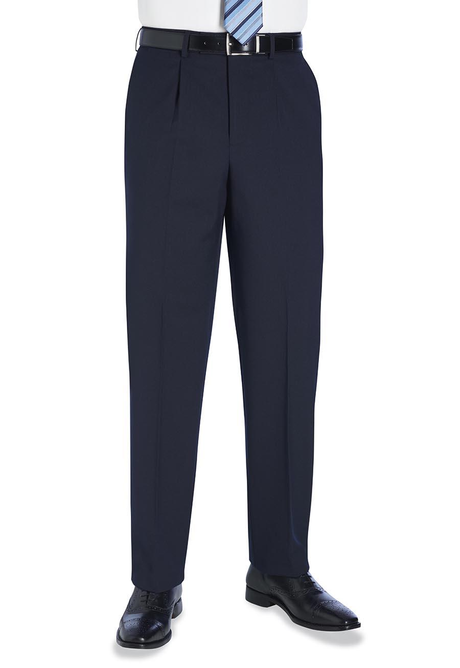 Langham Single Pleat Trouser Image